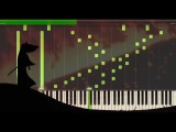 Samurai Jack Tomb Scene EPIC Soundtrack for Piano (The Ecstasy of Gold) Synthesia Tutorial