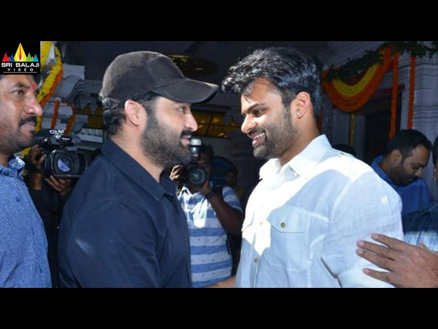 Sai Dharam Tej's Jawan Movie Launched By Jr NTR | Latest Telugu Movies 2017 | Sri Balaji Video