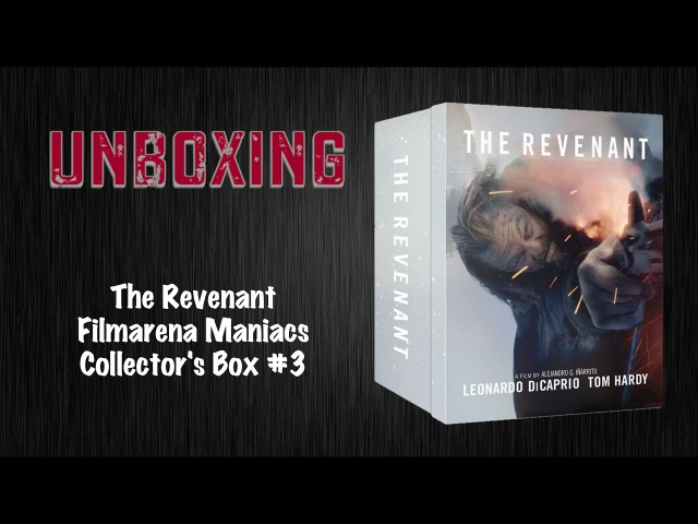 The Revenant Filmarena Maniacs Collectors Box 3 Unboxing