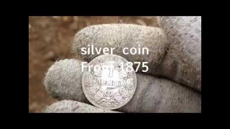 WW2 Metal Detecting/ww2 relics/Sondeln im Wald/m1 garant clips and 40mm shells