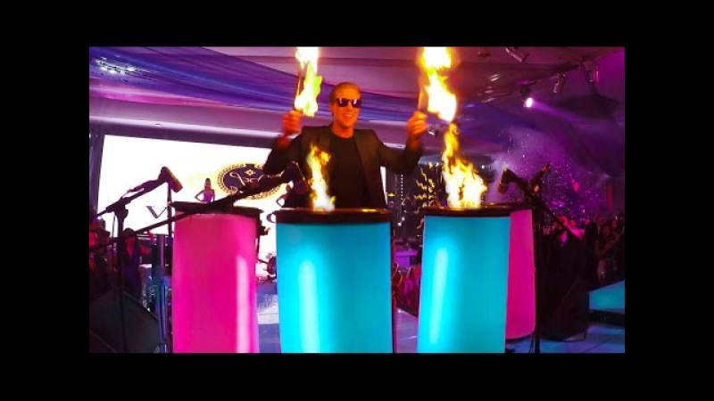 DRUMMING WITH FIRE - AFISHAL