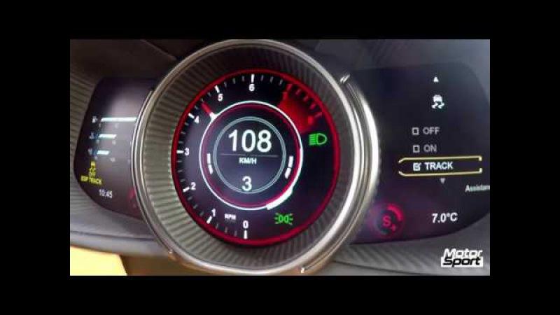 Aston Martin DB11 0-200 km/h : insane sound