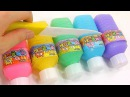 Finger Family Song - DIY How To Make 'Colors Bottle Milk Pudding Gummy Learn Numbers Counting Slime
