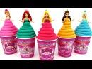 Сюрпризы из пластилина Плей До и много конфет Игрушки Барби и другие сюрпризы