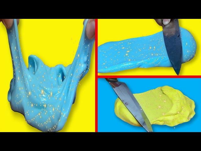 DIY ЛИЗУН МАСЛО | ПРОСТОЙ РЕЦЕПТ BUTTER SLIME | 2 ЛИЗУНА БЕЗ ТЕТРАБОРАТА И Persil Easy Butter Slime