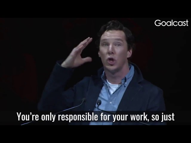 You must practice being stupid, dumb, ... - Benedict reading a letter by Sol LeWitt