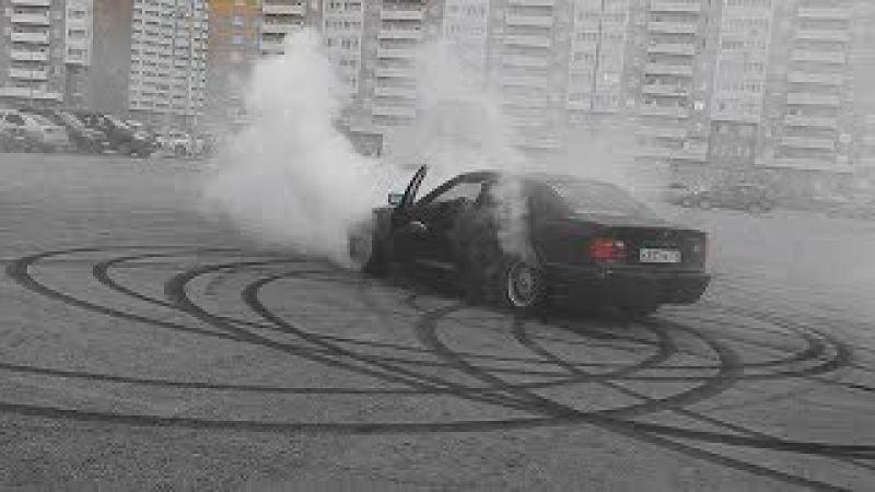 ДРИФТ ЗАКОНЧИЛСЯ...ВЗРЫВОМ - BMW E36 (МАТРЕШКККА)
