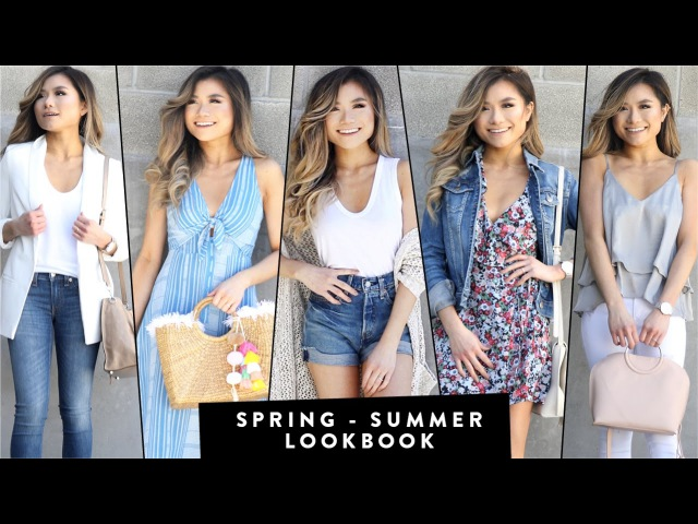 2017 SPRING to SUMMER Transitional Lookbook | Summer Outfit Ideas |