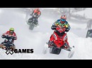 Petter Narsa wins Snowmobile SnoCross gold