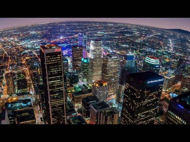 Los Angeles time lapse photography PANO LA by Joe Capra aka Scientifantastic
