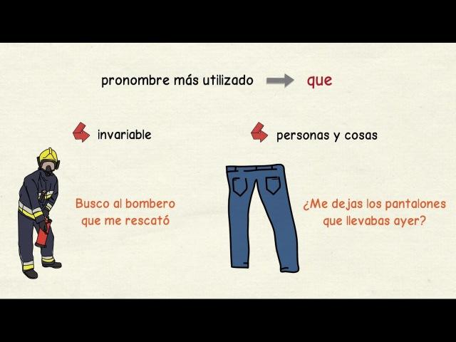 Aprender español: Pronombres relativos (nivel avanzado)