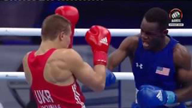 Чемпіонат Світу з боксу-2017. 12 фіналу. Олександр Хижняк (UKR) vs Трой Айсленд (USA)