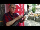 Amazing guitarist plays with taping technique