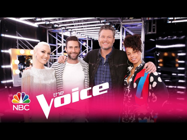 Alicia Keys, Adam Levine, Blake Shelton and Gwen Stefani: