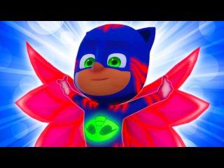 герои в масках #Кэтбой #Алетт и #Геко ВПЕРЕД!!!Развивающий мультфильм для детей #1