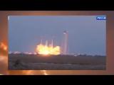 В США опять взорвалась после старта ракета Falcon 9