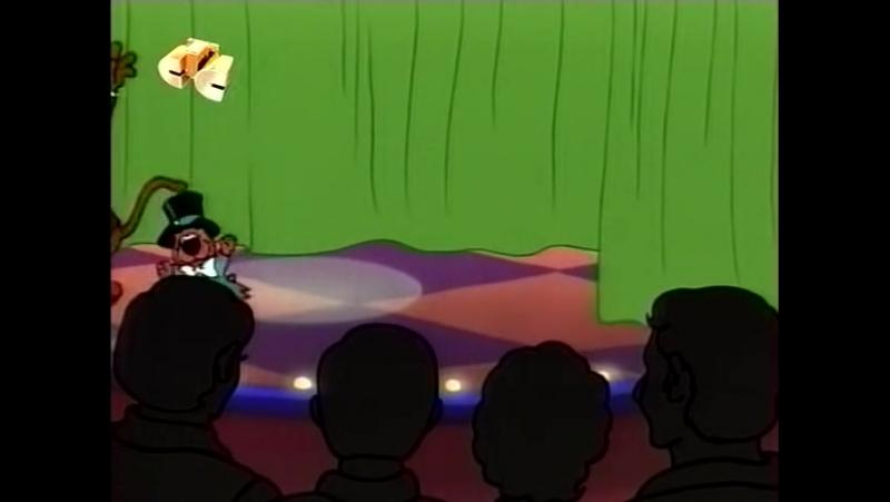 Сезон 1. 10. Скуби в плавучем театре/Суета вокруг Дуби Дуби Ду (Showboat Scooby/The 'Dooby Dooby Doo' Ado)