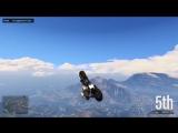 GTA 5 Stunt Race physics glitch