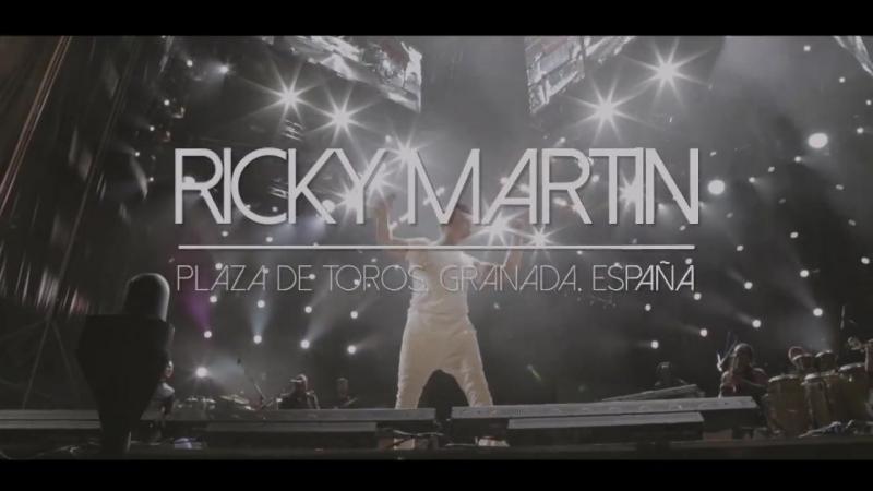 Ricky Martin OMG!! ❤️ Qué show! Granada Viste el video??