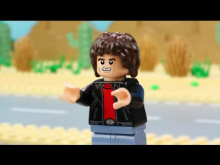 LEGO Dimensions Meet that Hero Sonic the Hedgehog Meets Knight Rider PS4, PS3
