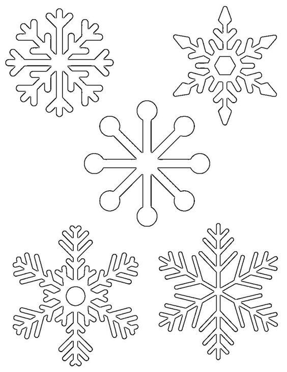 снежинки из клея пва на окна трафареты