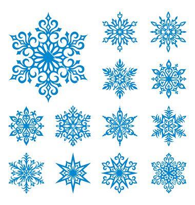 снежинки из клея пва шаблоны