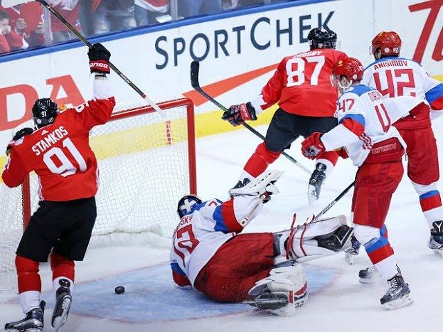 Канада - Россия 5:3 Кубок мира