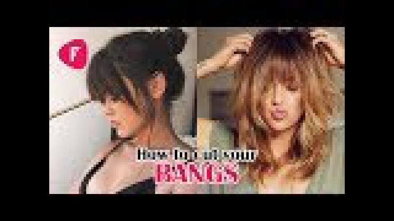 💇 How To Cut Your Own Bangs ✂ Fringe DIY Tutorials Compilation 2017 ✔