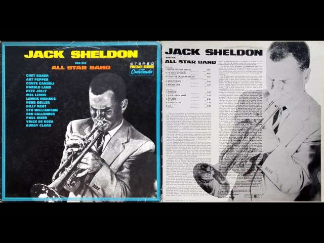 Jack Sheldon His All Stars – Jack's Groove / GNP Crescendo / GNPS 9036 / 1976 / JAZZ / FULL ALBUM
