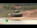 Боевая техника в действии новейший танк Т-14 «Армата»