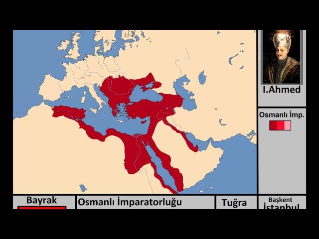 Osmanlı İmparatorluğu Kuruluştan Yıkılışa(Harita)