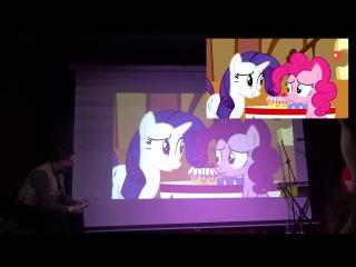 [Живая озвучка] Мой Небольшой Пони на НайтмарНайт-16