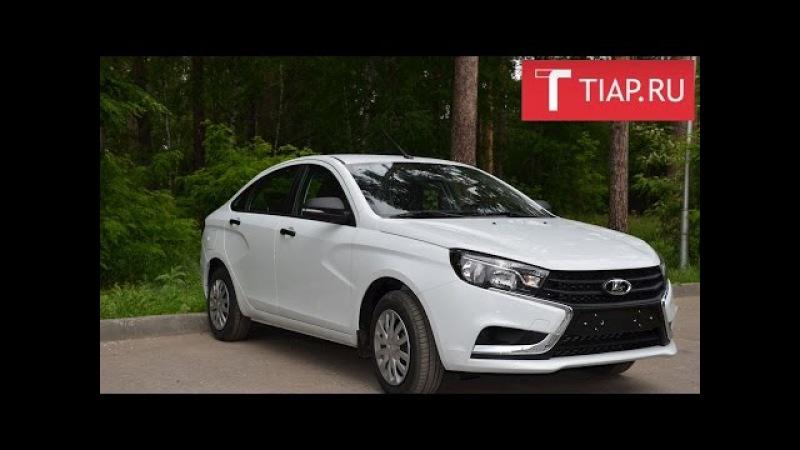 Тест-драйв: Lada Vesta специально для TIAP.ru