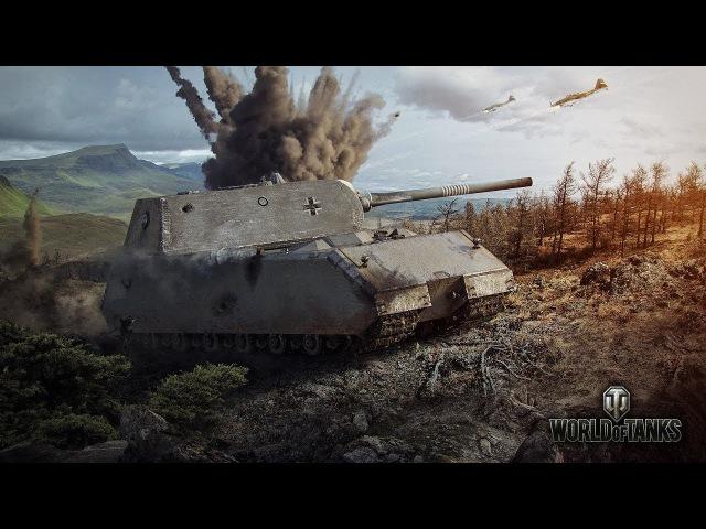 World of Tanks Maus - 6 Kills 12.4K Damage
