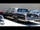 1983 CADILLAC FLEETWOOD BROUGHAM D'ELEGANCE ON THE STREET