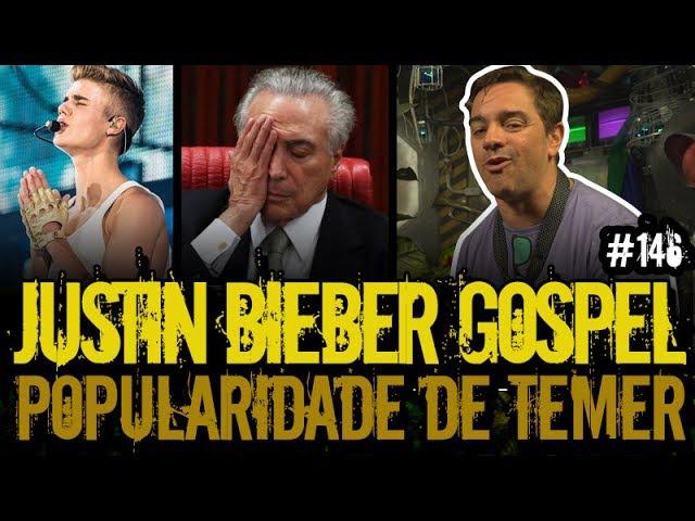 JUSTIN BIEBER GOSPEL TEMER POPULAR | Plantão do Vilela | 146