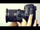 Объектив Samyang T S 24 3 5 Видео тест