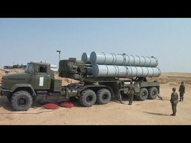 Rússia envia míssil S-300 para a Síria