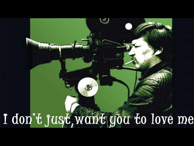 I Don't Just Want You To Love Me - R.W. Fassbinder