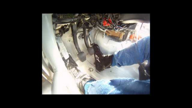 Heel-Toe Downshifting in a BMW PRO3 Race Car