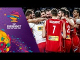 Inside Serbia's locker room after Quarter Final victory!