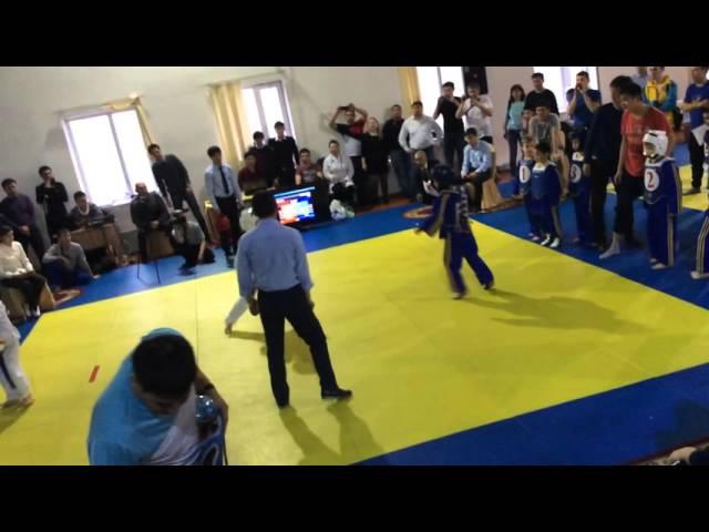 Стенка на стенку. Тхэквондо турнир БекНур. 28.02.2016г. Астана.