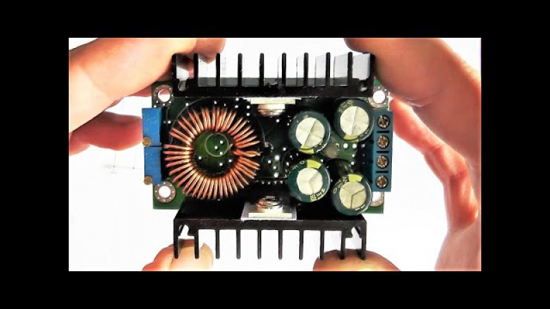 Делаем регулировку напряжения от ноля, с преобразователя DC-DC Step Down Constant Voltage.Тест