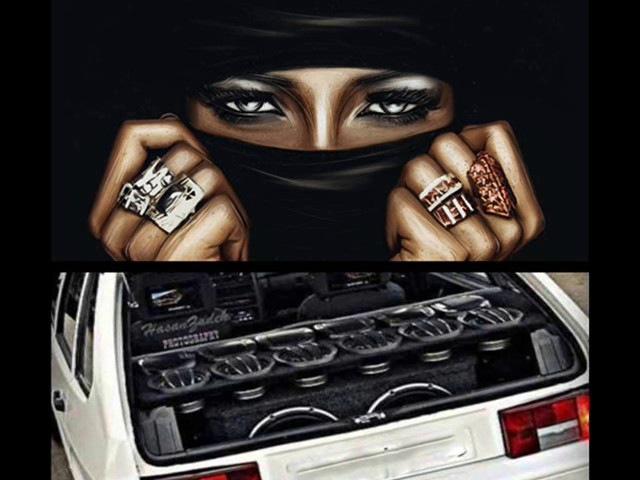 арабские басс в машину sadluce yallah