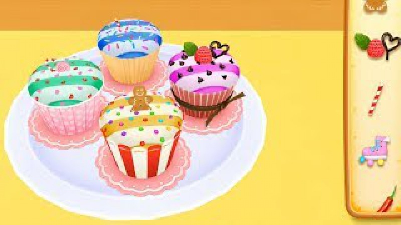 Kids Learn Surprise Cooking Colors with Cake Maker 3D and Children Toddlers Pet Party Video