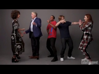 Game Of Thrones - Characters Dancing ( Bloopers and Funny Moments )