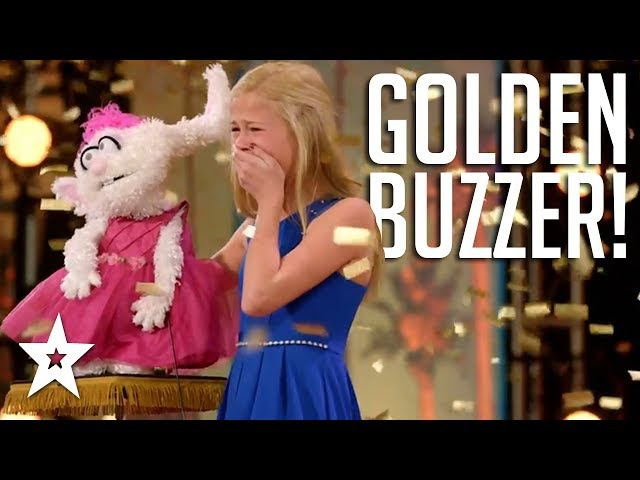 DARCI LYNEE Wins 1st GOLDEN BUZZER On Americas Got Talent 2017!