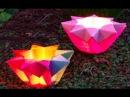 Origami Easy - Star Lantern - Origami Flower Lantern - Ideas for Valentine's day