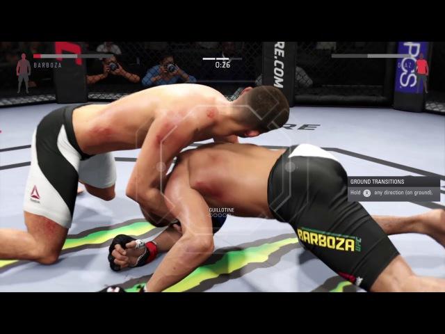 RFC 24 Lightweight Edson Barboza vs Nate Diaz