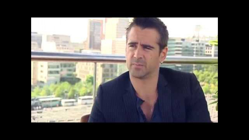 Colin Farrell in an exclusive interview for Total Recall